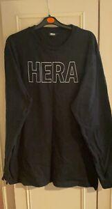 Mens Hera Long Sleeve Oversized T Shirt Size S
