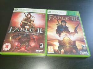 Fable II & Fable III (2 & 3) Microsoft Xbox 360 Game / Games Bundle Collection