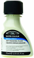 Winsor Newton Art Masking Fluid Water Colour Medium Watercolor 75ml 2.5oz