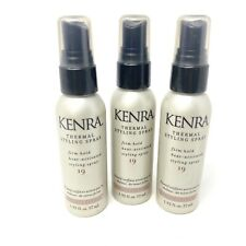 Kenra Thermal Styling 19 Spray Travel Size Lot Of 3 NEW 57ml