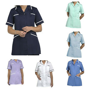 Healthcare Nursing Beauty Tunics woman girls ladies top uniform shirts top -T70