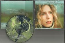 SOPHIE B. HAWKINS Walking on thin Ice PROMO Radio DJ CD single w/ PRINTED LYRICS