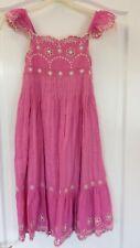 Girls Pink MONSOON Summer Dress, Age 7-8
