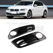 x2 Front Bumper Fog Light Lamp Air Intake Grille For BMW 528i xDrive 2014-16