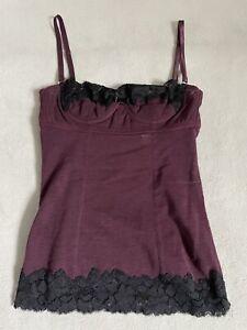 Dolce & Gabbana Womens Camisole Bra Vest Top Size 1