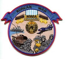 KOREAN WAR VETERAN COMMEMORATIVE NAVY ARMY USAF USMC Squadron Unit Jacket Patch
