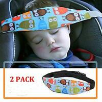 Adjustable Baby Sleep Belt Head Support Holder Safety Car Seat Kids Nap Aid Band