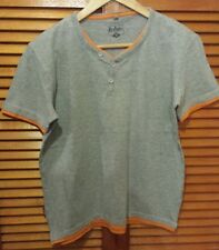 Lee Cooper Grey T-Shirt with Orange Edging. Age 13
