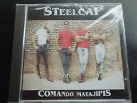STEELCAP   -   COMANDO  MATAJIPIS  ,  CD   1999  ,  SPAIN  PUNK  OI ,  NEW , NEU