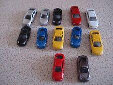12 cars suit Hornby Graham Farish etc. Model Railway  N gauge assorted colours