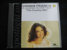 CD  CONNIE FRANCIS  Spotlight  On  The Country Hits  A Legend in her Time  CONNY