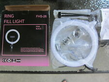 """LOT OF 6 Pcs --10"""" Ring Fill Light LED FHS-26 w/Stand & Mount Kit Wholesale"""