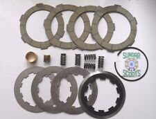 4 PLATE CLUTCH KIT HARD COMPOUND TYPE.SUITABLE FOR STD CROWN, LAMBRETTA SCOOTERS