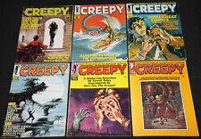 1960's HORROR MAGAZINE LOT 35,000+ 54 Different Titles Famous Monsters Warren!!