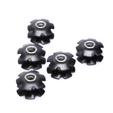 "1pcs Bike Bicycle Cycling Steer Tube Headset Aluminum Star Nut 1 1/8"" 28.6mm"
