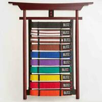 Blitz Belt Rack Display Martial Arts Budo 10 Rack
