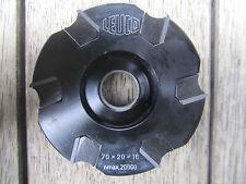 HM Wendeplatten Kanten Füge Messerkopf 70 x 20 x 16 mm Z 6 von Leuco