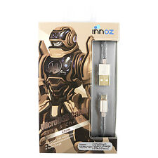 Innoz 25cm Micro USB Sync & Charge Phone Cable