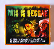 THIS IS REGGAE 2 CD BOX SET - BOB MARLEY, LEE PERRY, THE UPSETTERS, GOOD + COND