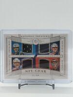 2019 National Treasures Stidham Grier Stick Finley NFL Gear Jersey RC #21/99 CMA