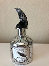 Halloween Crow Topper Arachnid Tonic Bottle Decor Prop New