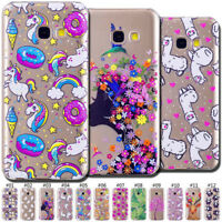 Silicone Gel Back Clear Soft TPU Rubber Cute Skin Pattern Case Cover For Samsung
