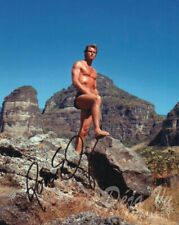 Ron Ely Autograph - Signed - Tarzan - Doc Savage - South Pacific - COA - VF