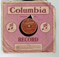 78T Les COMPAGNONS CHANSON Vinyle Phono AUX MARCHES PALAIS -COLUMBIA BF 357 RARE