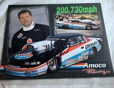 Allen Johnson Signed NHRA Photo Ultimate Amoco Racing N 61