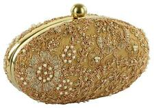 Indian Women Bridal Wedding Ethnic Purse Bead Evening Party Bag Clutch Prom Ball