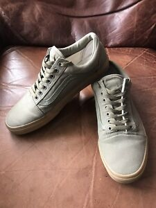 VANS Mens Old Skool Sneakers Size UK10 In Great Used Condition