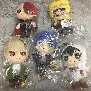 My Hero Academia Halloween Plush Lot Deku, Tenya, Todoroki, Bakugo, All Might