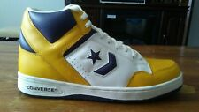 CONVERSE WEAPON PURPLE/WHITE/YELLOW BASKETBALL SHOES SIZE 11