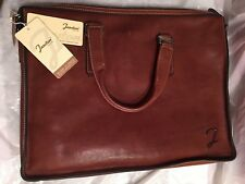 Leather Attache by Jucston Briefcase