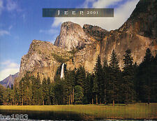2001 JEEP Brochure / Catalog: GRAND CHEROKEE,WRANGLER,4x4,4WD