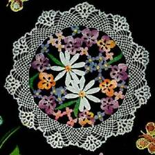 Vintage Crochet Flower Bouquet Doily Crochet PATTERN ONLY