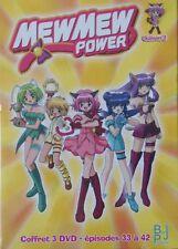 Coffret 3 DVD MEWMEW POWER Episodes 33 à 42 saison 2  dessin animé enfant  Neuf