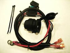Motorcycle Marine Cigarette Lighter 12 V Accessory Socket Outlet + fuse+ cable