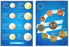 España-Set De 8 Monedas De Euro (Circulado-Vg)