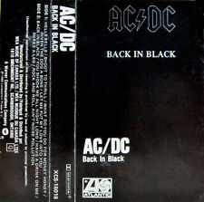 Back In Black by AC/DC (Cassette, 1980 Atlantic, Canada, XCS-16018, Dolby)