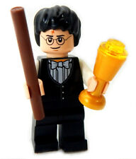 "NEW LEGO ""YULE BALL"" HARRY POTTER MINIFIG w/butterbeer & wand figure minifigure"