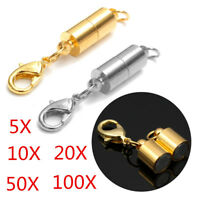 Metal Strong Magnetic Clasps Hooks Jewellery Findings Necklace Bracelet Buckles
