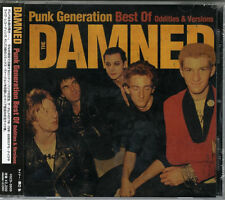 DAMNED-PUNK GENERATION BEST OF ODDITIES & VERSIONS-JAPAN CD E50