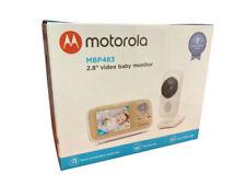 "Motorola MBP483 2.8"" Video Baby Monitor - White.  2 Way System(talk To Baby)."