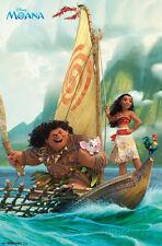 Moana- Sailing Along Poster Print, 22x34