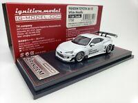1:64 Ignition Toyota 86 V3 PANDEM White Metallic JDM IG1750 Japan Limited GT86
