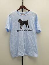 I'd Rather Be With My Dog T-Shirt - Medium