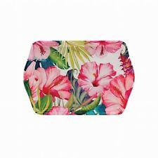 Tropical Paradise Bright Pink Green Trinket Tray 21cm X 14cm