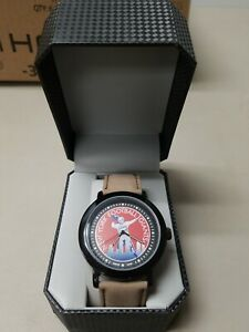 New York Giants Game Time Mens Quartz Metal and Leather Watch NEW FREE SHIP