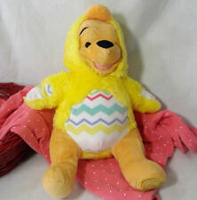 "Disney Store Winnie the Pooh Easter Chick Plush 11"" Duckling Costume Recyclable"